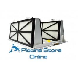 Gruppo coperchio filtro con cartuccia basic per Dolphin Supreme e Dolphin Master