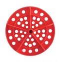 DISCO PER CORSIA GALLEGGIANTE SPEEDY POOL DIAMETRO 120 mm ROSSO
