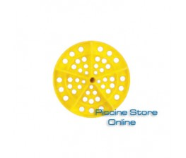 DISCO PER CORSIA GALLEGGIANTE SPEEDY POOL DIAMETRO 120 mm GIALLO