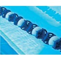 CORSIA GALLEGGIANTE EASY LANE BLU DIAMETRO 85mm PER PISCINE 25 M