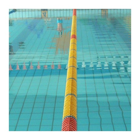 CORSIA GALLEGGIANTE EASY LANE GIALLO DIAMETRO 85mm PER PISCINE 25 M