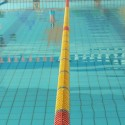 recensisci: CORSIA GALLEGGIANTE EASY LANE GIALLO DIAMETRO 85mm PER PISCINE 25 M
