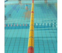CORSIA GALLEGGIANTE EASY LANE GIALLO DIAMETRO 85mm PER PISCINE 50 M