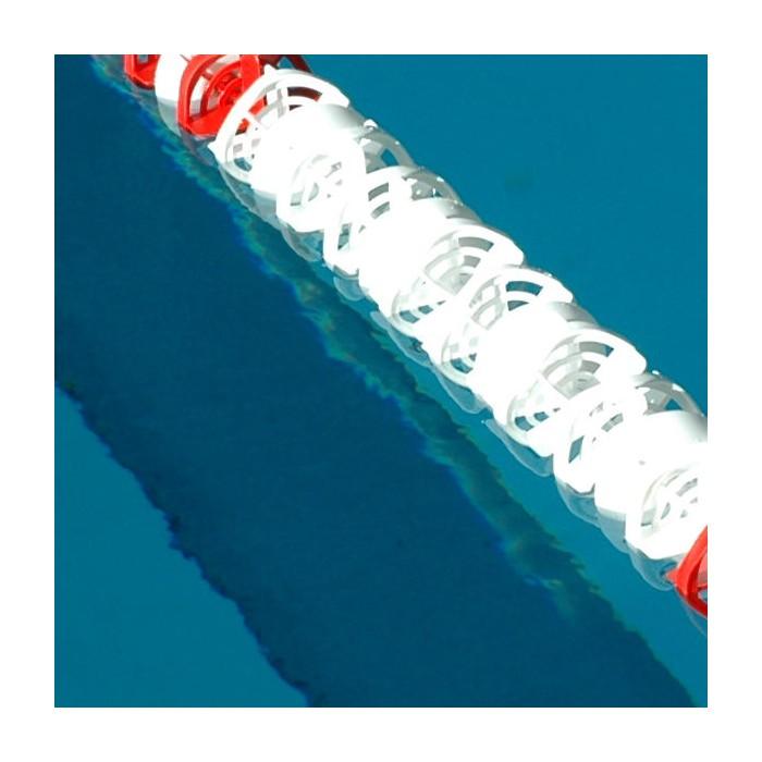 CORSIA GALLEGGIANTE EASY LANE BIANCA DIAMETRO 85mm PER PISCINE 25 M