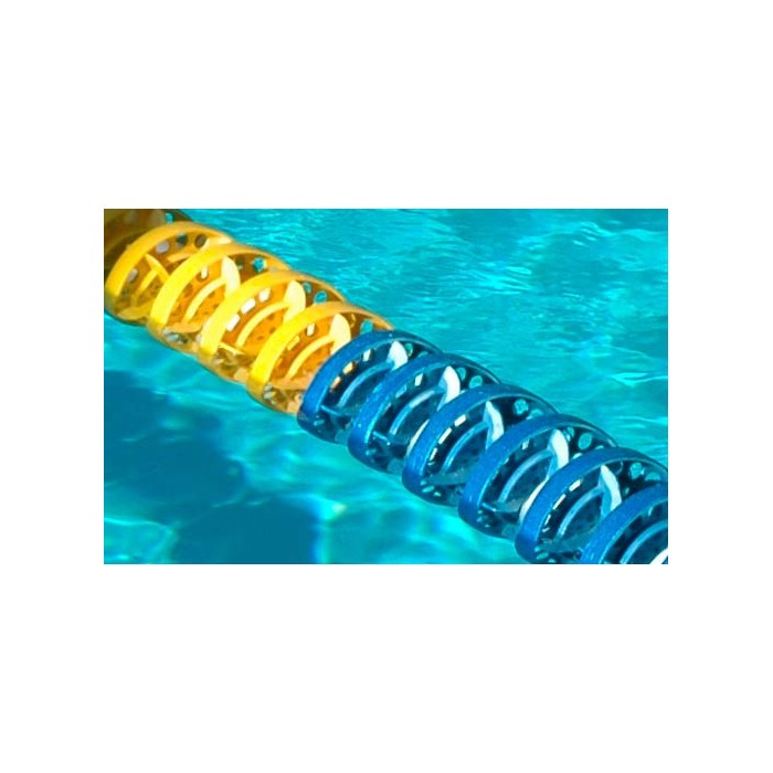 CORSIA GALLEGGIANTE SPEEDY POOL BLU DIAMETRO 120 mm PER PISCINE 25 M