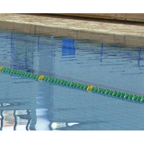 CORSIA GALLEGGIANTE SPEEDY POOL VERDE DIAMETRO 120 mm PER PISCINE 50 M