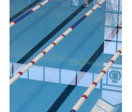 CORSIA GALLEGGIANTE SPEEDY POOL BIANCO DIAMETRO 120 mm PER PISCINE 25 M