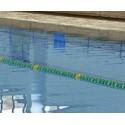 recensisci: CORSIA GALLEGGIANTE FLAT LANES VERDE DIAMETRO 150 mm PER PISCINE 50 M