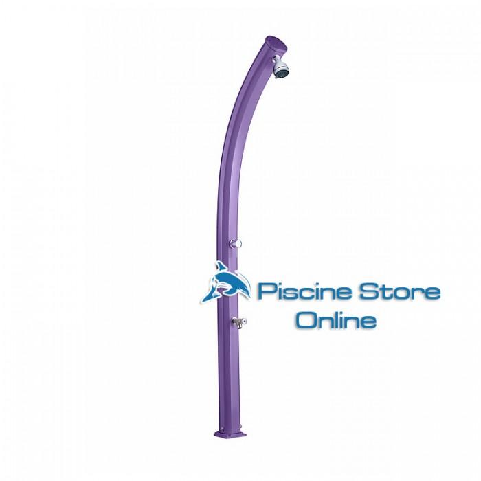 Doccia tardizionale piscina jolly violetto con lava piedi for A piedi piani doccia