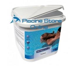 Tricloro in pastiglie astral 250 gr kg 5 per il trattamento dell'acqua