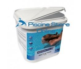 Multi-action 5 kg trattamento acqua piscina pastiglie da gr. 250