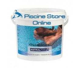 OXIMINES ASTRAL kg 5-ossidante granulare senza cloro- per piscine e spa