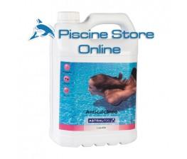 Anti-calcare liquido ASTRAL lt. 5 anticalcare liquido per il trattamento acqua della piscina