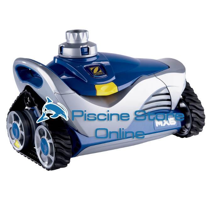 robottino pulitore idraulico automatico MX 6 Zodiac robot piscina