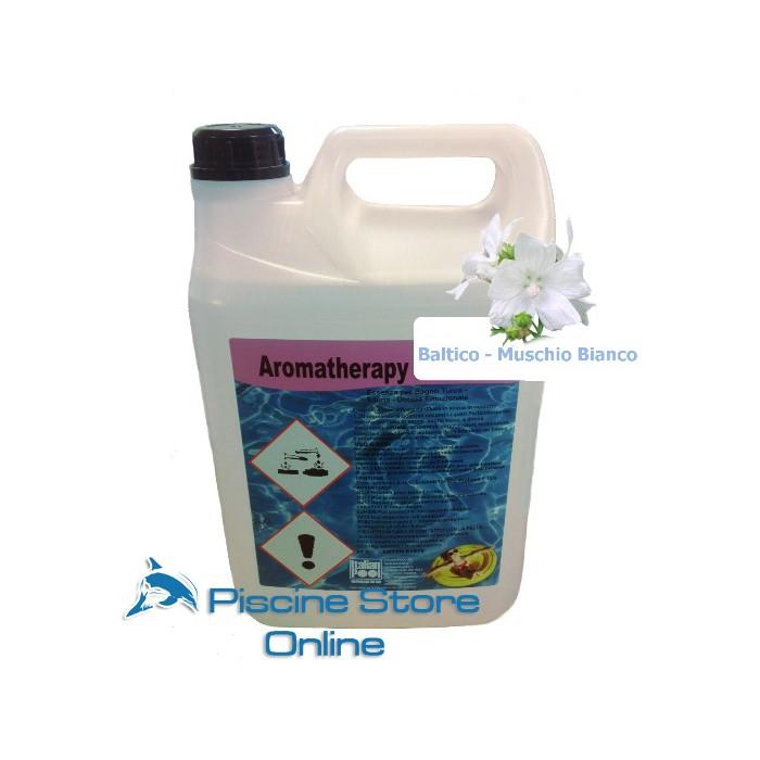 Essenza per bagno turco concentrata fragranza baltico - muschio bianco lt. 5