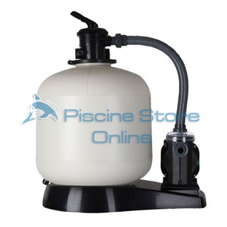 Filtro a sabbia per piscina fuori terra + pompa filtraggio 10 MC/H FA6100