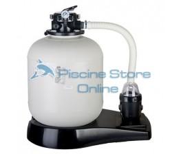 Filtro a sabbia per piscina fuori terra + pompa filtraggio 8 MC/H FA6080