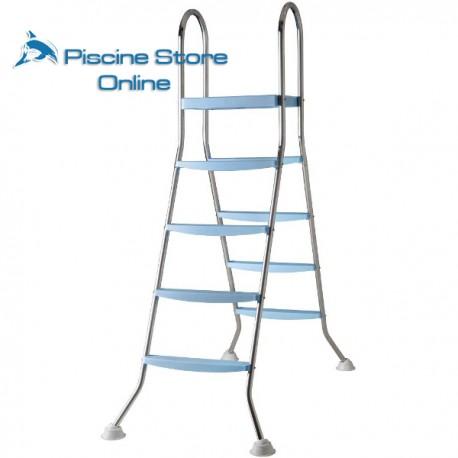 SCALA PISCINA A PONTE IN ACCIAIO AR11680