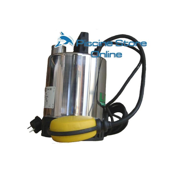 Elettropompa sommergibile acque pulite INOX DREN pompa svuotamento piscina