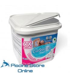 CTX-250 KG. 5 cloro a rapida dissoluzione per trattamento acqua piscina in pastiglie da gr. 20