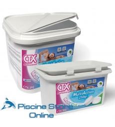 CTX-392 5 KG. Multi Action trattamento acqua piscina pastiglie da GR. 200