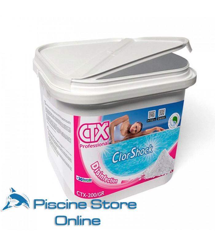 CTX-200/GR KG. 5 CLORO GRANULARE PER TRATTAMENTO ACQUA PISCINA