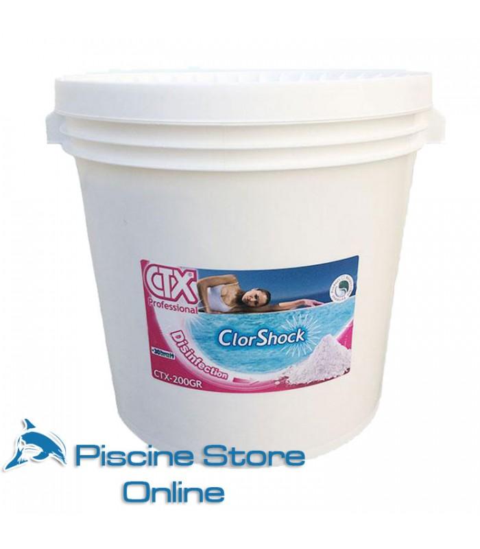 CTX-200/GR KG. 25 CLORO GRANULARE PER TRATTAMENTO ACQUA PISCINA