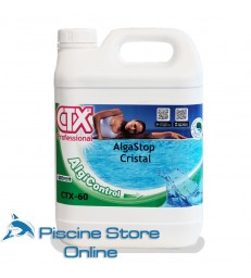 CTX-60 L 5 antialghe schiarente con elevato potere battericida alghicida e fungicida ad azione rapida