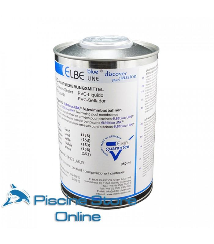 PVC LIQUIDO SIGILLANTE PER RIVESTIMENTO PVC PISCINA ELBE BLUE LINE