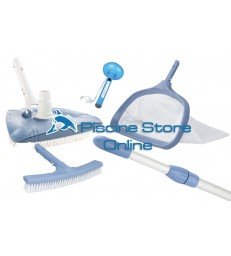 Kit pulizia K2 aspirafango triangolare + retino e spazzola per parete