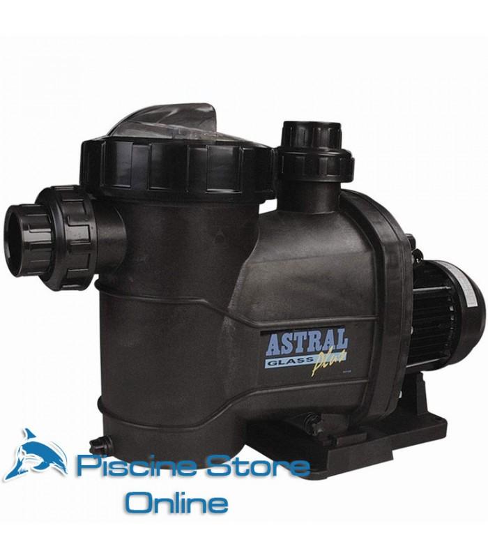 Pompa per piscina Astral Glass Plus 3 HP - 31 m3/h Trifase - motore per piscine