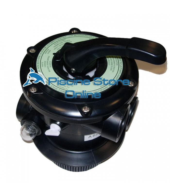 Valvola Selettrice filtro per piscina Top a 6 vie per filtro havana