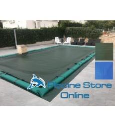 Copertura piscina rettangolare impermeabile COVER UP 240 GR