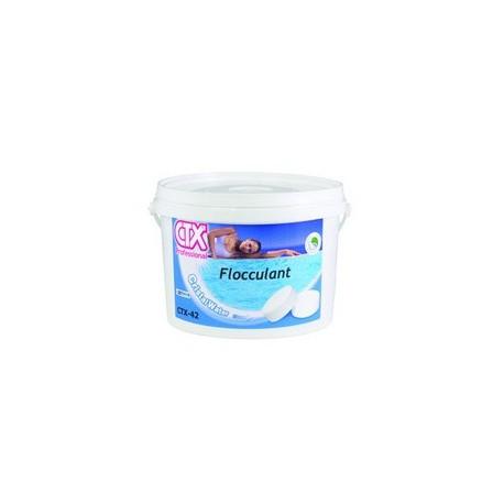 CTX-42 flocculante in pastiglie gr. 100 per trattamento acqua piscina