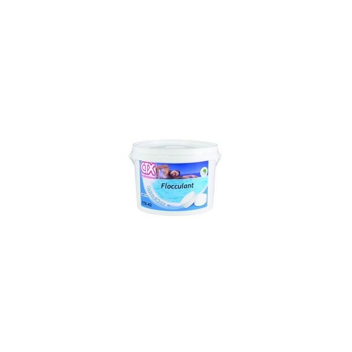Ctx 42 flocculante in pastiglie gr 100 per trattamento acqua piscina prodotti chimici piscina - Trattamento acqua piscina ...