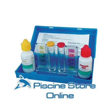 Test Kit Analizzatore Per Cloro E Ph Dell'acqua Piscina