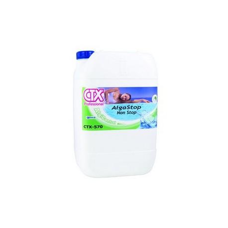 Ctx 570 l 5 antialghe battericida concentrato non for Antialghe per piscine