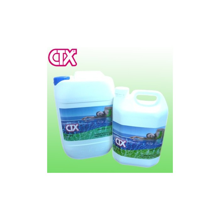 Ctx 570 l 5 antialghe battericida concentrato non for Antialghe per piscine