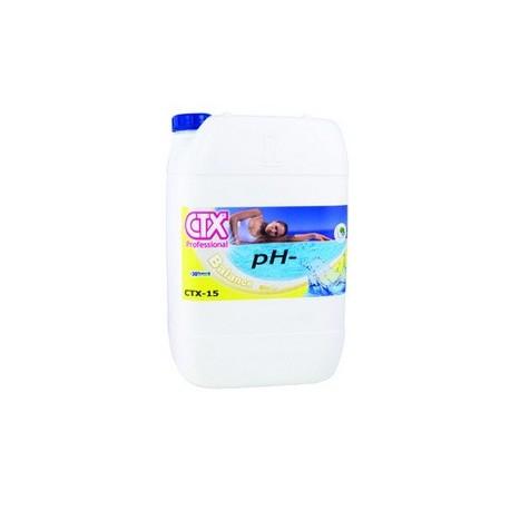 CTX-15 RIDUTTORE DI PH LIQUIDO - PH MENO