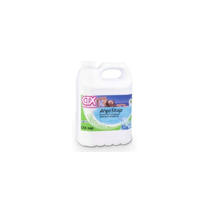 Ctx 540 antialghe per ossigeno piscina online for Antialghe per piscine
