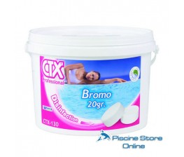 CTX-130 KG. 5 disinfettante bromo in pastiglie da 20 gr