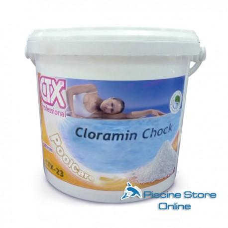 CTX-23 CLORAMIN SHOCK-OSSIDANTE GRANULARE SENZA CLORO- PER PISCINE E SPA