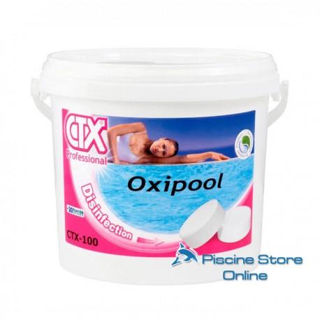 CTX-100 KG.6 ossigeno attivo in pastiglie per trattamento acqua piscina