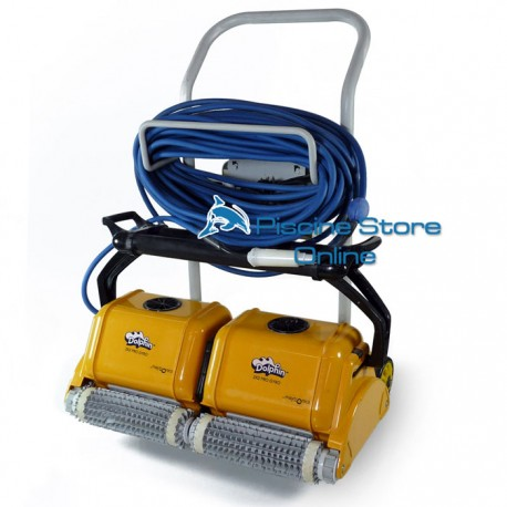 Pulitore piscina automatico Dolphin Wave 2X2 Pro Gyro robot piscina