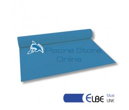 RIVESTIMENTO PVC PISCINA ELBE BLU LINE 1,5 mm H 1,65 MT. BLU