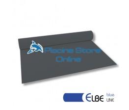 RIVESTIMENTO PVC PISCINA ELBE BLU LINE 1,5 mm H 1,65 MT. GRIGIO ANTRACITE