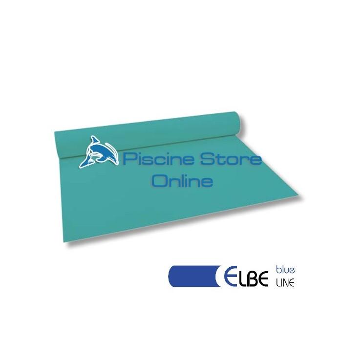 RIVESTIMENTO PVC PISCINA ELBE BLU LINE 1,5 mm H 1,65 MT. VERDE CARAIBI