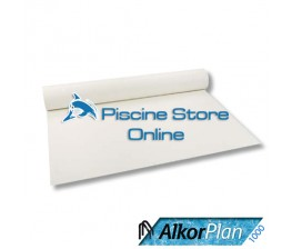 RIVESTIMENTO PVC PISCINA ALKORPLAN 1000 1,5 mm H 1,65 MT. BIANCO