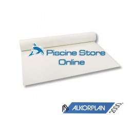 Rivestimento PVC Piscina ALKORPLAN 2000 1,5 mm H 1,65 MT. BIANCO