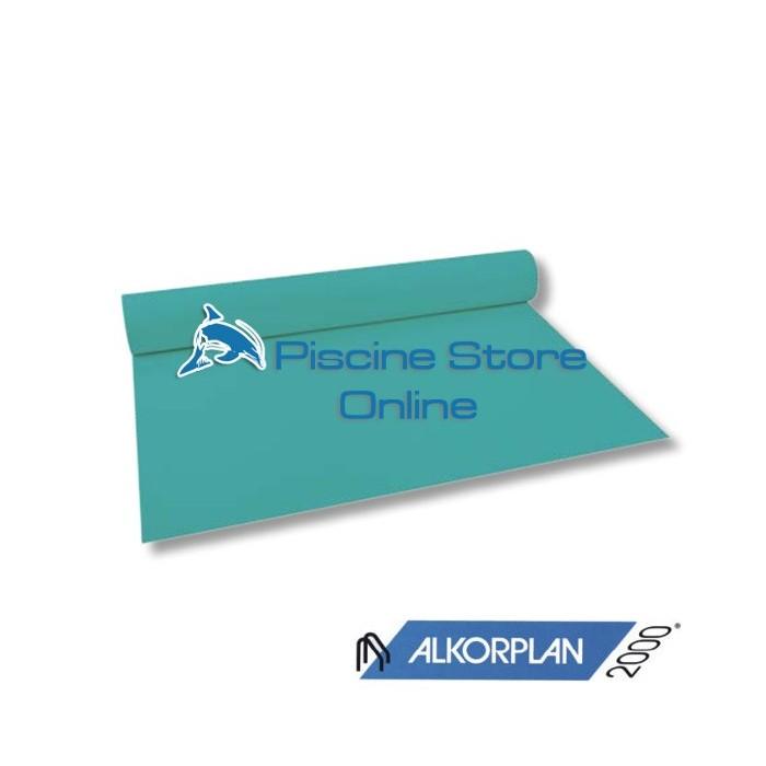 RIVESTIMENTO PVC PISCINA ALKORPLAN 2000 1,5 mm H 1,65 MT. VERDE